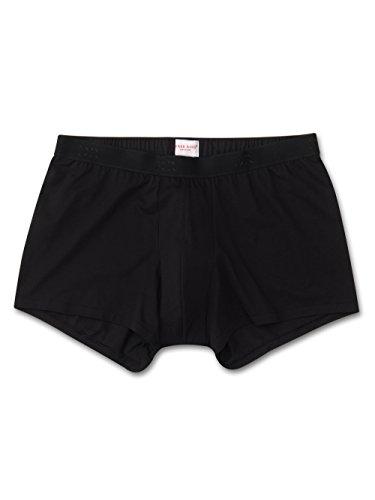 - Derek Rose Men's Pima Cotton Stretch Hipster Underwear (Black, Small)