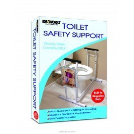 JIIRET4349EA - Deluxe Safety Toilet Support, 29-1/2 x 19 x 26-1/4