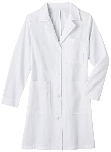 Meta Labwear Women's 38''; Lab Coat White by Meta