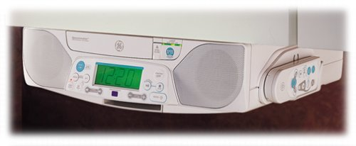 Amazon.com: GE 75290 Spacemaker CD/FM/AM Player With Built In Subwoofer  (White): Home Audio U0026 Theater