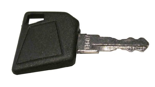 Ignition key for Bobcat, Bomag, Caterpillar, Dynapac, Ford, Gehl, Hamm, Hang, JCB, Moxy, New Holland, Rayco, Sky Trak, Terex, Vibromax, Volvo, Part Number (Volvo Loader Parts)