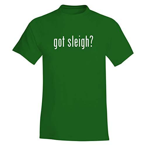 The Town Butler got Sleigh? - A Soft & Comfortable Men's T-Shirt, Green, X-Large