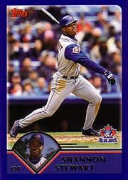 2003 Topps Toronto Blue Jays Baseball Cards Complete Team