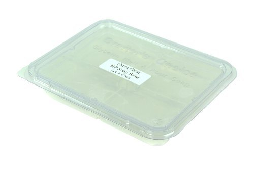 Glycerine Soap Slice - Premium Extra Clear Melt-and-Pour Soap Base