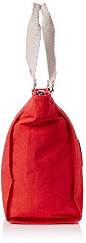 L Shoulder New Rose Pink Kipling Shopper Bag coral C Womens qOHxSvU