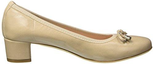 MELLUSO 03220 - Zapatos de vestir de Piel para mujer beige Size: Beige (Corda)
