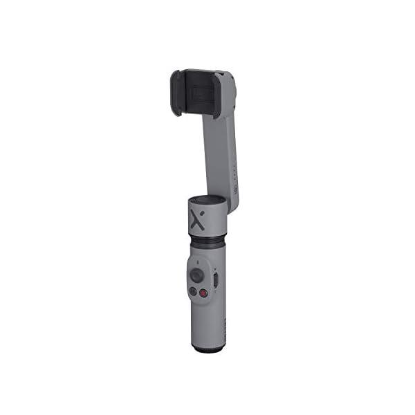 ZHIYUN Smooth-X Ufficiale Smartphone Pieghevole Stabilizzatore del Giunto Cardanico Stick per Selfie Vlog Youtuber (Grigio) 2 spesavip