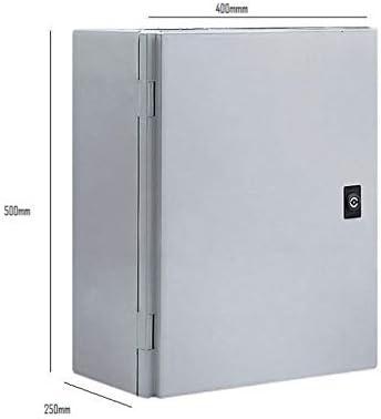 Caja DISTIBUCION ELECTRICA Metalica ST4-525 con Proteccion IP66 para FIJACION A Pared 500X400X250 MM con 2 Placas DE Entrada DE Cables RANURADAS: Amazon.es: Electrónica