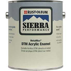 Rust-Oleum Sierra Performance Metalmax 0 Voc Dtm Acrylic Enamel, Semi-Gloss Navy Gy Gal Can - Lot of 2