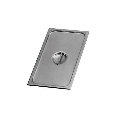Johnson-Rose 52300 Stainless Steel 2/3 Size Steam Table Pan Cover/Lid