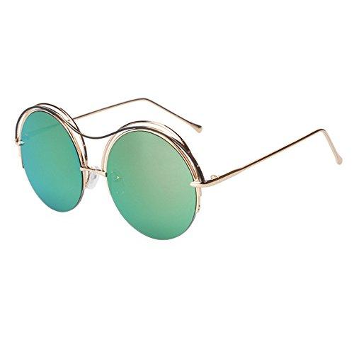 soleil de circulaires de de neutres réfléchissantes lunettes soleil soleil polarisées Violet Uv lunettes GAOLIXIA lunettes Petites lunettes 7Pq5x1w