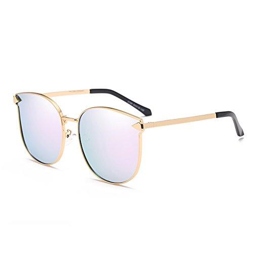 Retro peso moda de Luz Sandy mujeres Polarized conducción ropa Color ligero sol la púrpura Goggles YXX Beach de Gafas UV400 YRqwf610f