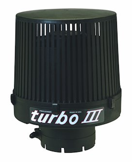 """New Turbo III 4.5"""" Inlet Intake Pre-Cleaner for Model 1-345-000 w/ 200 - 500 CFM"""