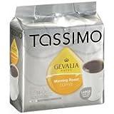 tassimo 12 oz - Tassimo Gevalia Kaffe Morning Roast Coffee, 4.3 oz(Case of 2)