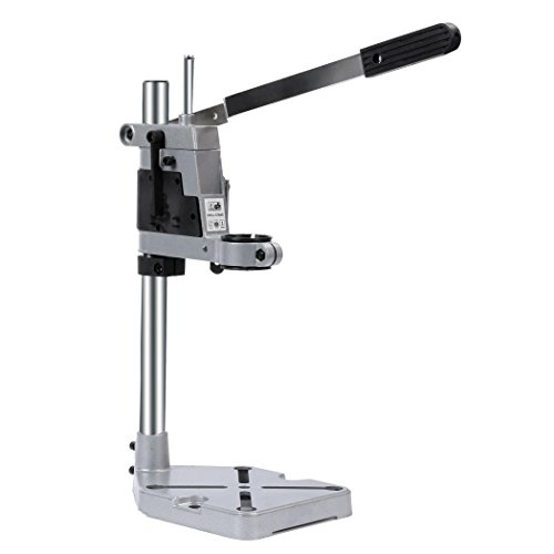 Aluminum Drill Press Support Stand Multifunction Rotary Workbench Repair Tool for Drilling Collet Rotary Tools by Lantusi