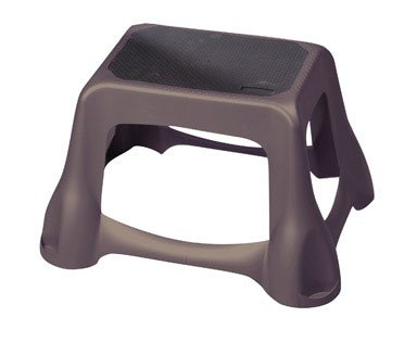 Rubbermaid Large Step Stool 300 Lb. Capacity 15.3'' L X 19.2'' W X 11.7'' H Dark Gray by Rubbermaid