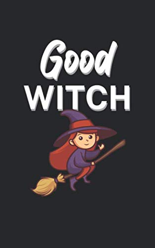 Good Non Horror Halloween Movies (Good witch: Notebook for Halloween/Horror women. Perfect gift. With lines and numbers. 120)