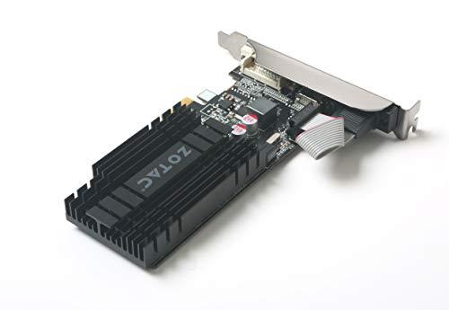 ZOTAC GeForce GT 710 1GB DDR3 PCIE x 1 , DVI, HDMI, VGA, Low Profile Graphic Card (ZT-71304-20L) by ZOTAC (Image #4)