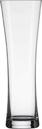 Schott Zwiesel Tritan - Vaso de cerveza de vidrio, Trigo, Transparente, 1