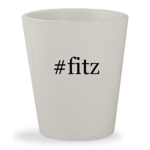 #fitz - White Hashtag Ceramic 1.5oz Shot Glass