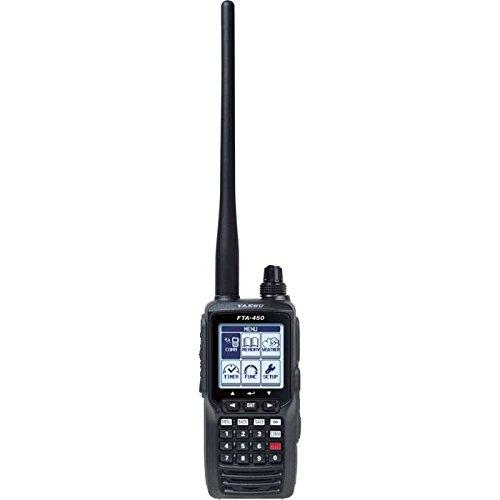 Yaesu FTA-450L Airband VHF Comm (Best Handheld Airband Scanner)