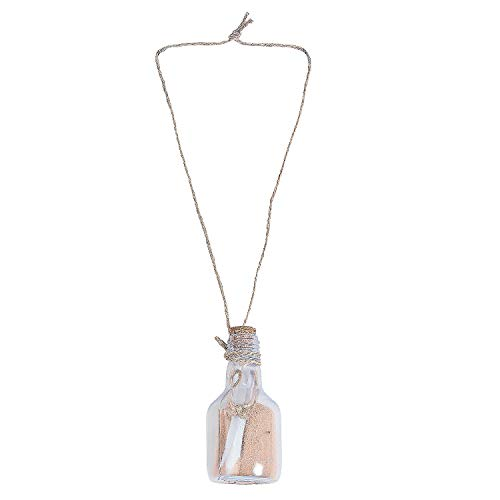 Fun Express - DIY Message in A Bottle Necklace 12 pc - Craft Kits - DYO - Paper - Apparel - 12 Pieces]()