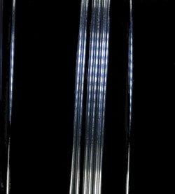 """24 Gauge .999 Fine Silver Round Wire 0.020"""" 5 feet from uGems"""