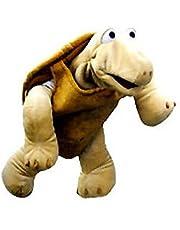 Living Puppets W123 Sammy de schildpad handpop, bruin