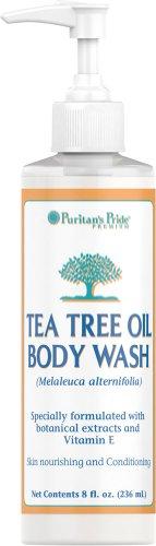 Fl Oz Body Wash (Herbal Authority Tea Tree Oil Body Wash-8 Oz. Face Wash)
