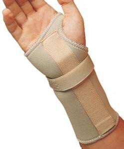 SS4915492 - Leader Carpal Tunnel Wrist Support, Beige, Medium/Right