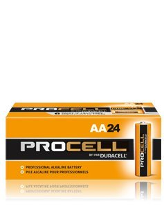 AA Duracell Procell Alkaline Batteries BOX OF 144 PC1500 PC-1500 - Aa Duracell