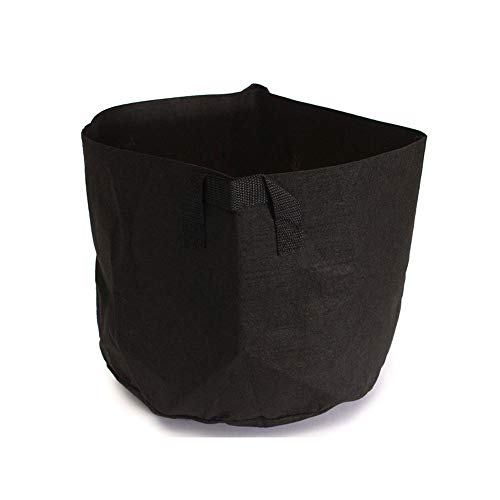 Window Copper Box Curved Planter - Grow Bags/Aeration Fabric Pots Handles Round Fabric Pots Plant Pouch Root Container Grow Bag Aeration Pot Container