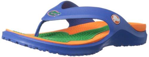 crocs Men's 15197 Modi Florida Flip Mule,Sea Blue,9 M US