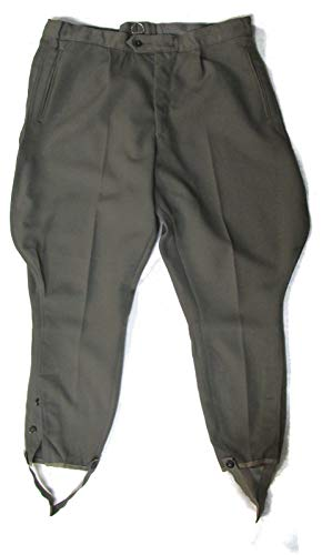 East German Military Breeches - Grey - G56 (Grey Military Uniforms)