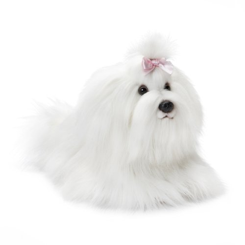 Nat and Jules Plush Toy, Maltese, (Maltese Dog)