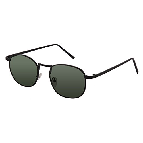 Southern Seas Tinted Green -1.25 Distance Nearsighted Lenses Non Prescription Glasses Black - Sunglasses Index High Prescription