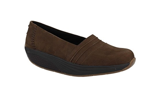 Femme on W Slip Noir Mbt Marron Baskets Azima SqXwpyyBv