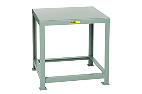 Little Giant MTH1 2230 24 Welded Steel Machine Table, 10,000 Lb. Load