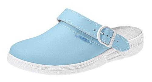 ABEBA - Sandalias profesionales azul - azul claro