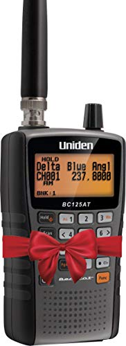 Uniden Bearcat BC125AT Handheld Scanner, 500-Alpha-Tagged Channels, Close Call Technology, PC Programable, Aviation…