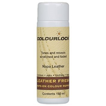 COLOURLOCK Leather Fresh Dye for Jaguar interiors to repair scuffs, color damages, light scratches on side bolsters and car seats by Colourlock