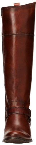 Calf de Leather Smooth 76927 mujer Wide arnés Frye zip Boot Vintage Melissa Redwood inside RBxT7w