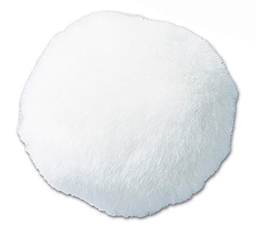Beistle 40773 Party Supplies, 5-Inch, White