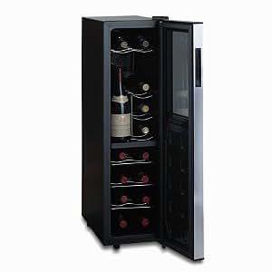 Wine Enthusiast 18-Bottle Touchscreen Wine Refrigerator (Slimline - 2-Temp)