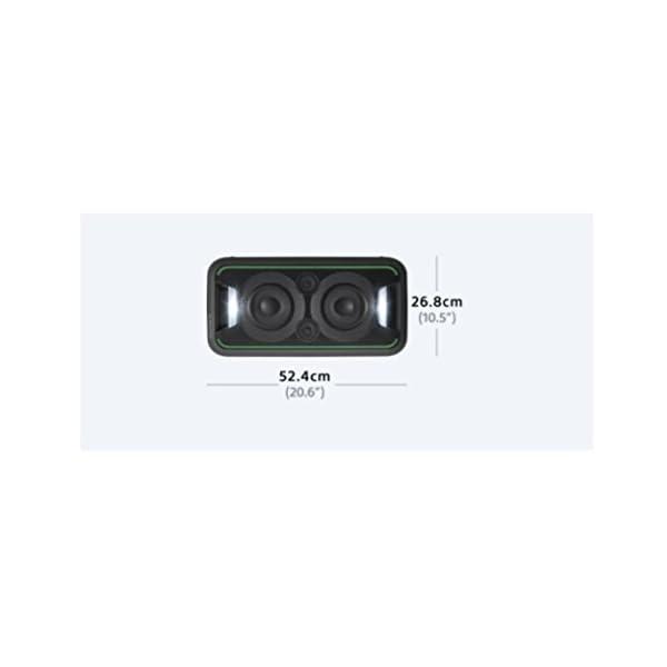 Sony GTK-XB5 Enceinte Bluetooth/NFC Extra Bass Noir 5