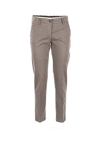 Pantalone Donna Armani Jeans 48 Fango 6y5p07 5n0rz Autunno Inverno 2017/18