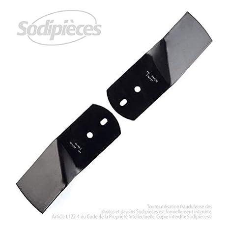 Juego de cuchillos para cortacésped y Viking Stiga-16,8 cm ...