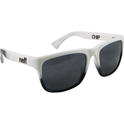 Neff Mens Sunglasses Chip White Black, One - Sunglasses Neff