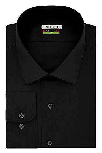 Van Heusen Men's BIG FIT Dress Shirts Flex Collar Solid (Big and Tall) 1