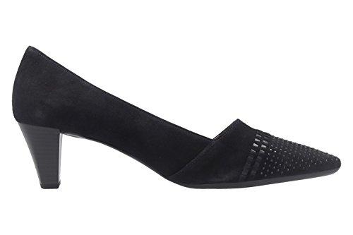 Gabor 65146-16, Scarpe col tacco donna nero nero